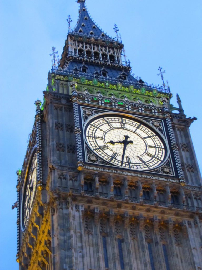 Great Clock and Elizabeth Tower - London