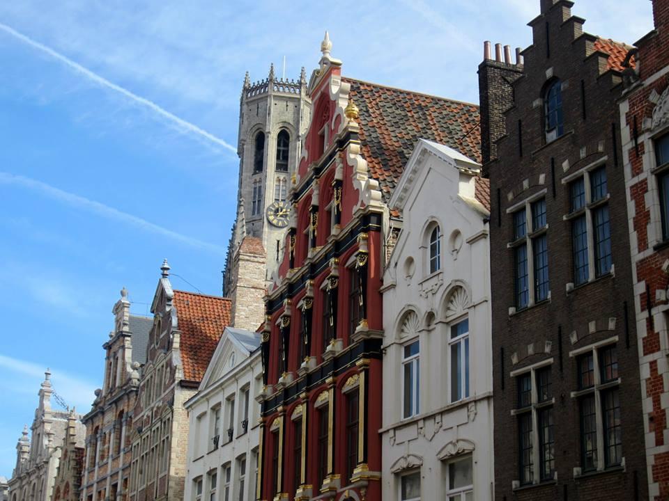 Construções em Bruges, Bélgica. Foto: NiKi Verdot