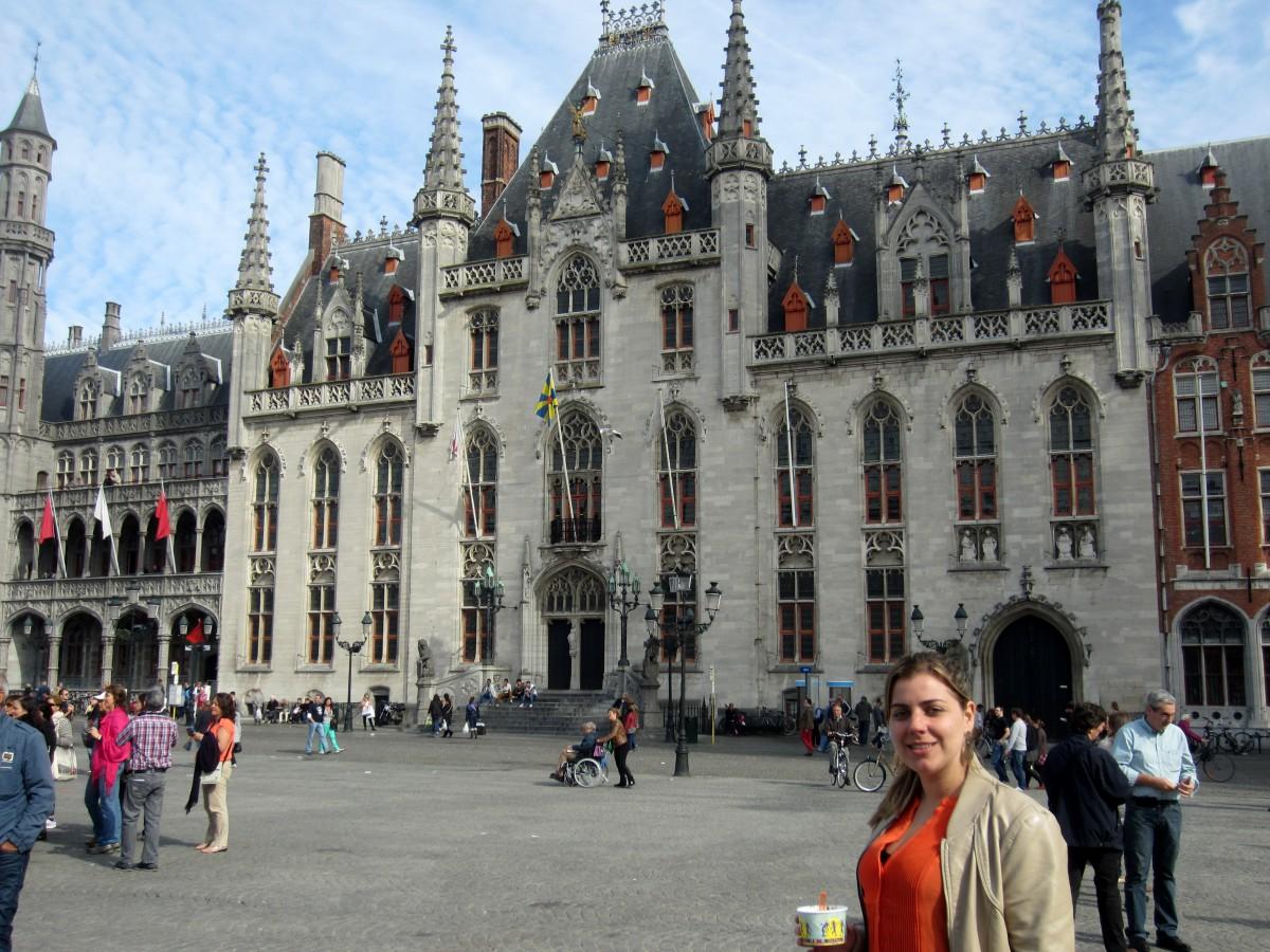 Mairie - Bruges, Belgique. Foto: André Polistchuck | 1001 Dicas de Viagem