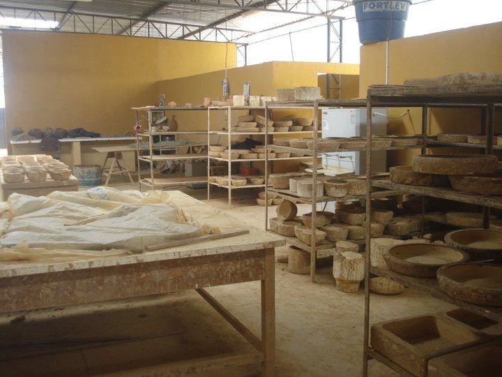 Pinturas rupestres em cerâmicas