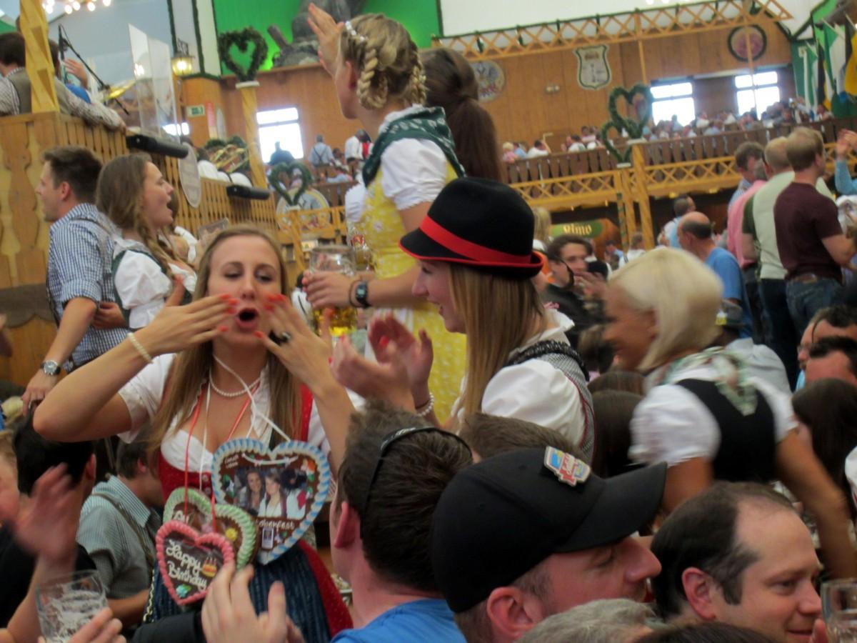 Oktoberfest em Munique na Alemanha
