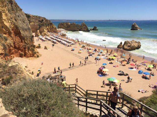 Lagos, Algarve em Portugal