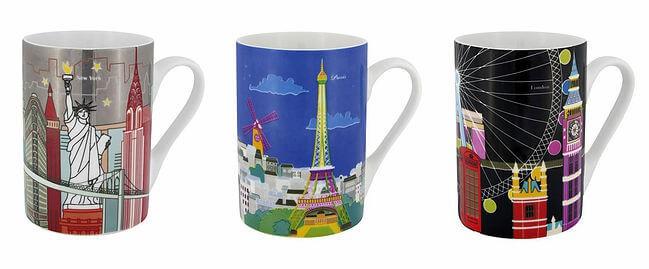 Artigos de viagem - canecas da loja francesa Pylones
