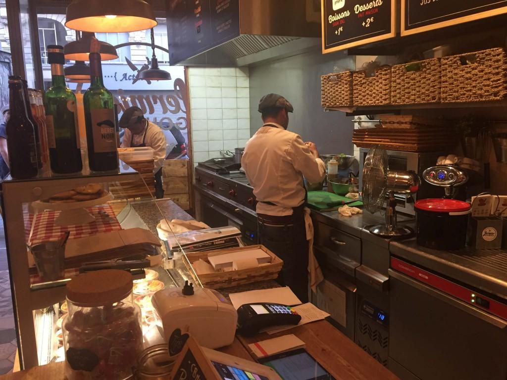 Restaurante Econômico em Paris
