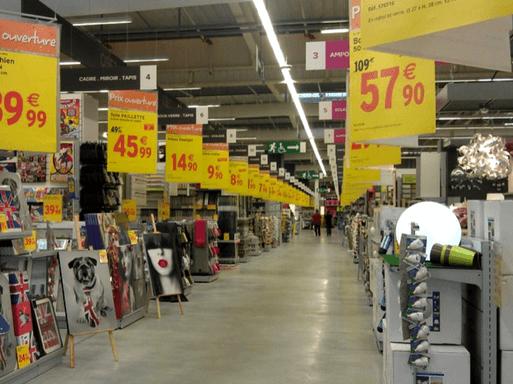Onde comprar móveis na França