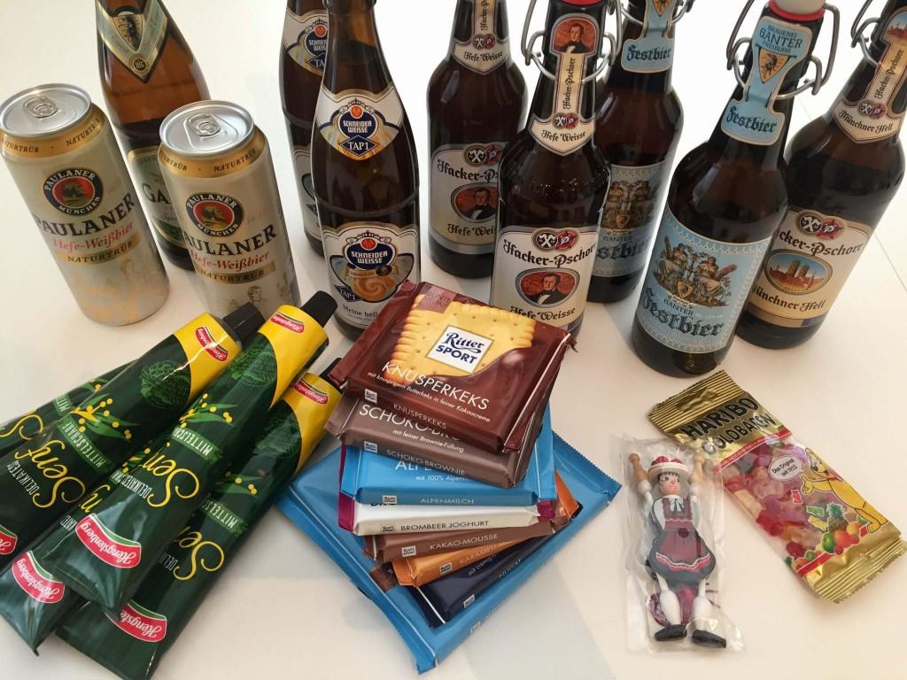 Ritter Sport - Chocolate Alemão