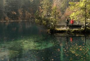 Blausee Berne, Switzerland : a Lagoa da Azul da Suíça | 1001 Dicas de Viagem