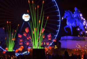 Fête des Lumières de Lyon - Festa das Luzes em Lyon   1001 Dicas de Viagem