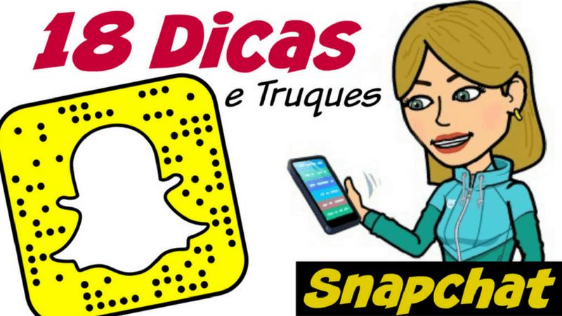 Dicas e Truques no Snapchat | 1001 Dicas de Viagem