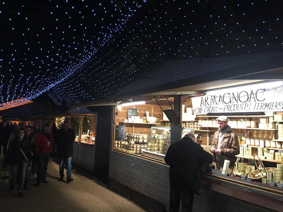 Mercado de Natal na França