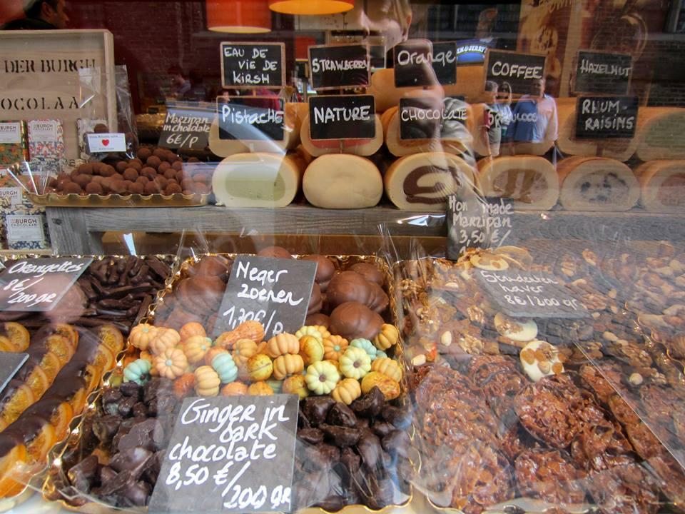 Chocolateria - Bruges, Bélgica. Foto: NiKi Verdot | 1001 Dicas de Viagem