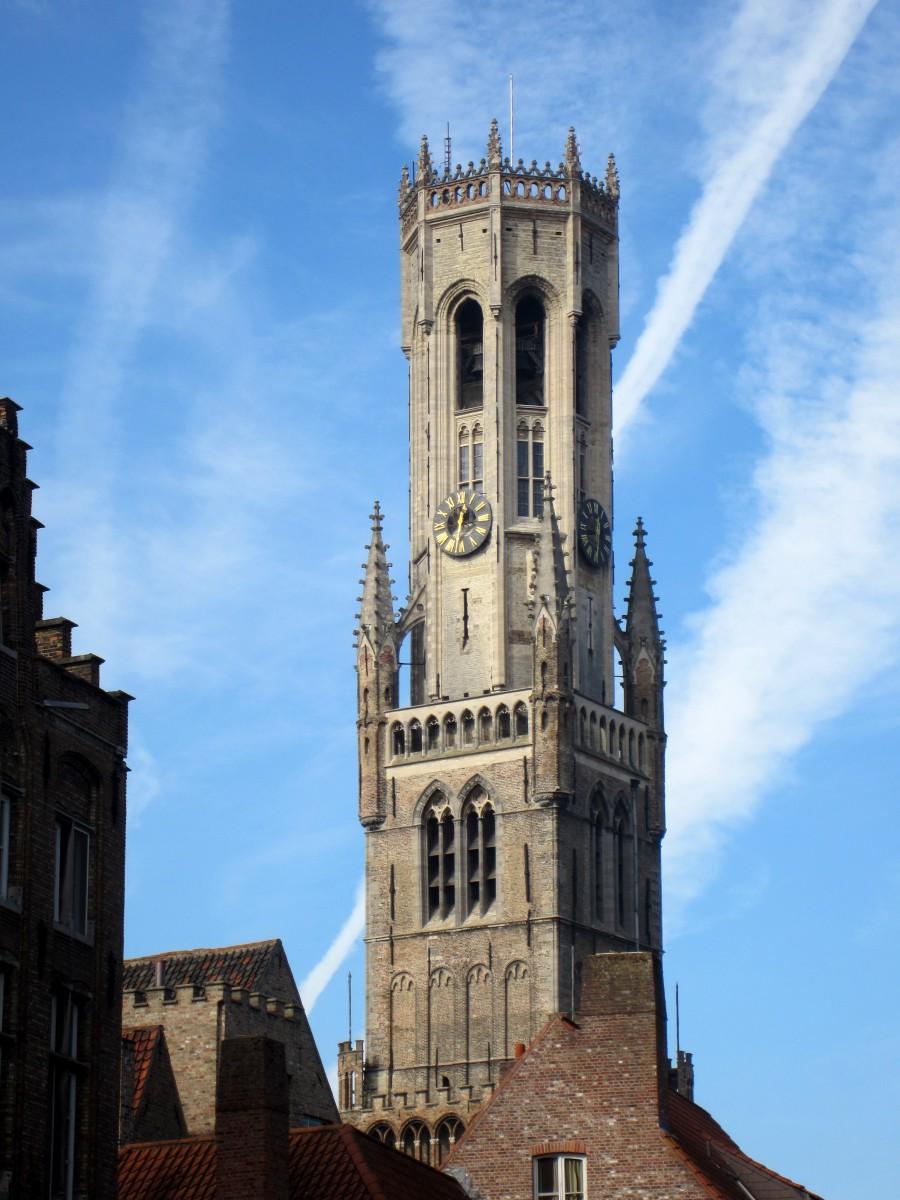 Beffroi (campanário) - Bruges, Bélgica. Foto: NiKi Verdot | 1001 Dicas de Viagem