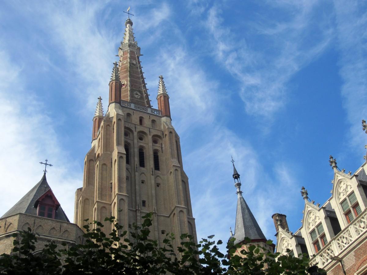 Igreja Nossa Senhora em Bruges, Bélgica