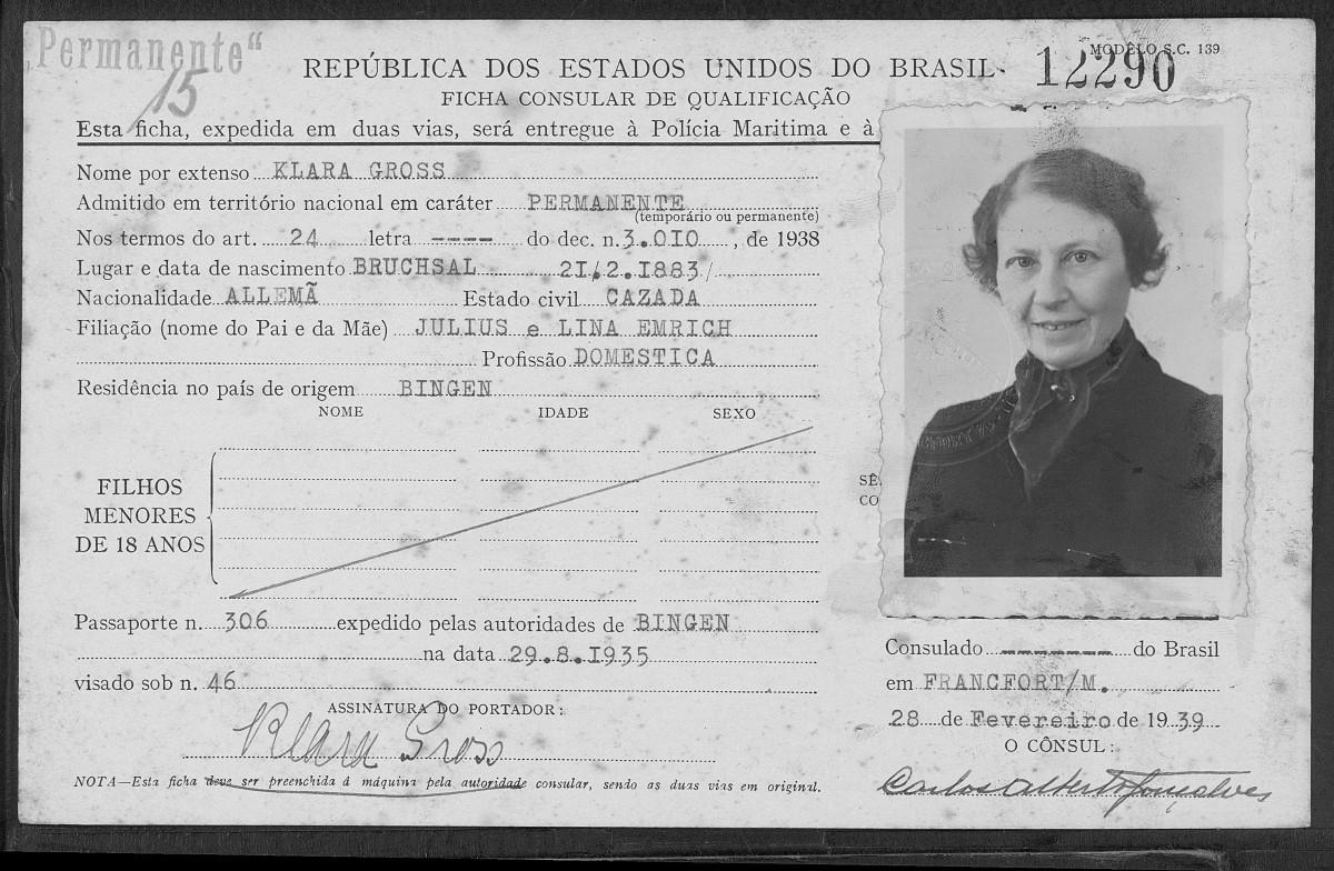 Imigrantes no Brasil FamilySearch