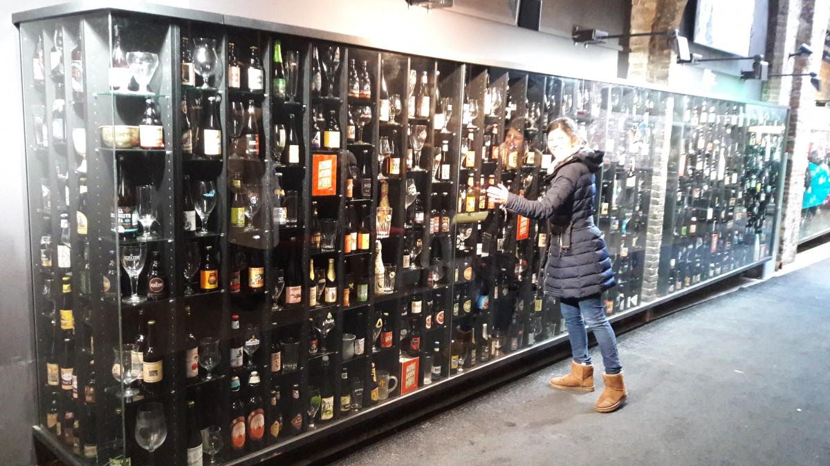 Beer Wall Brugge Bruges
