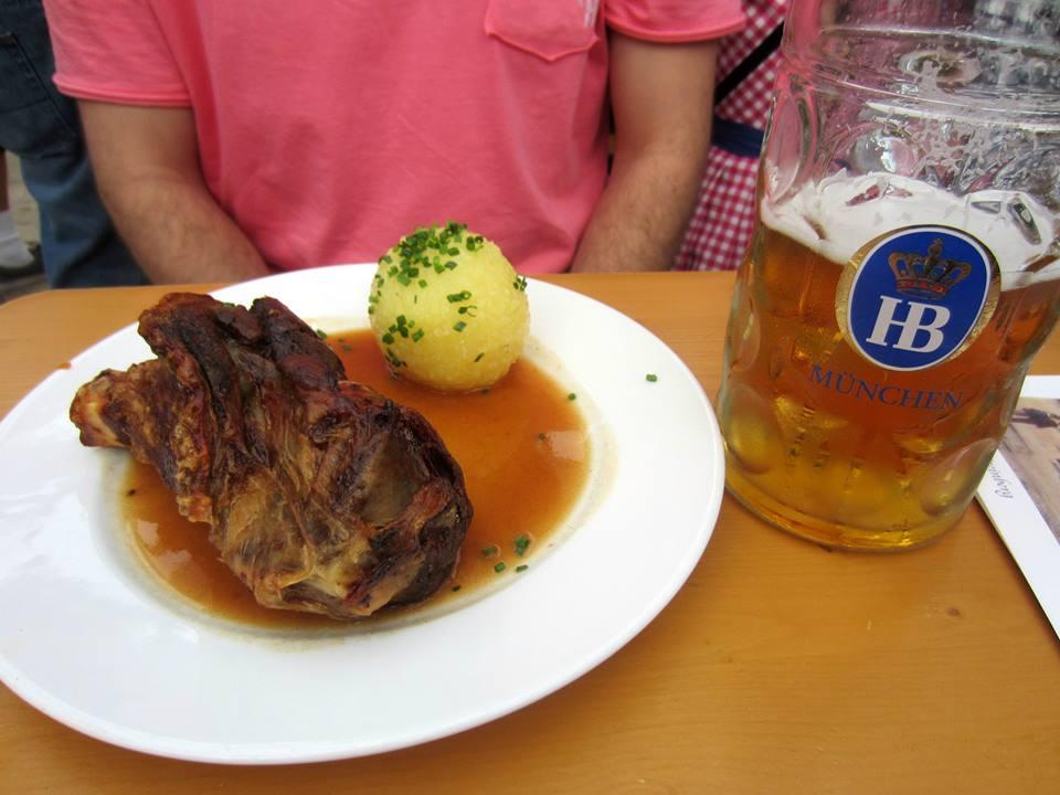 Joelho de porco Oktoberfest