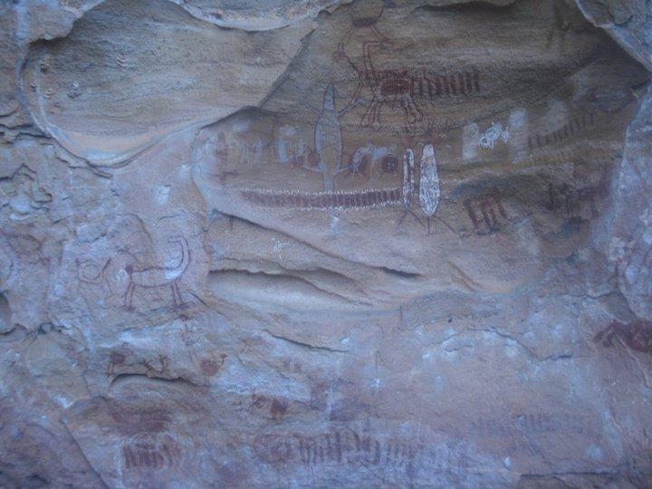 Sítios arqueológicos com pinturas rupestres