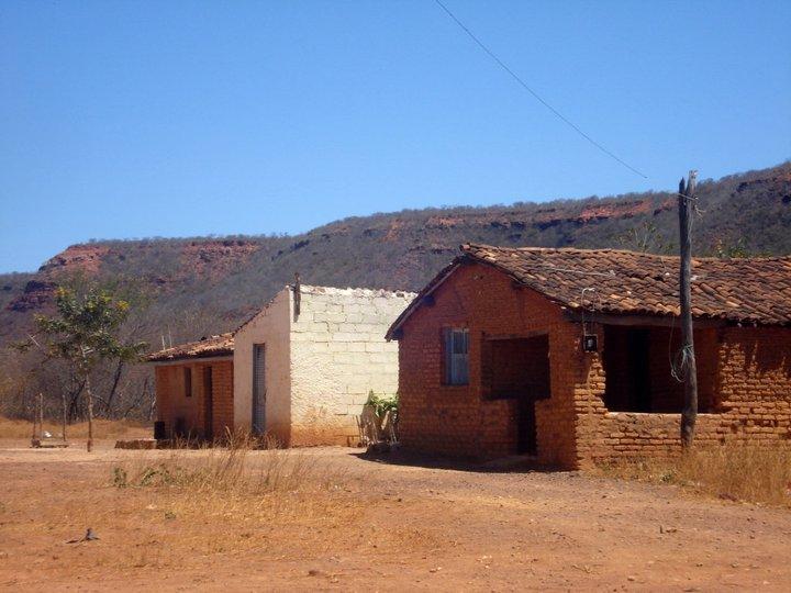 Interior do Piauí construções locais