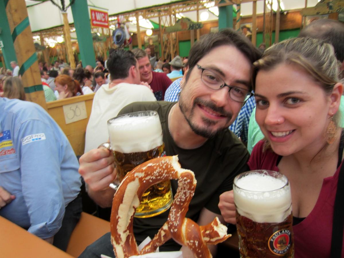 Oktoberfest em Munique, na Alemanha