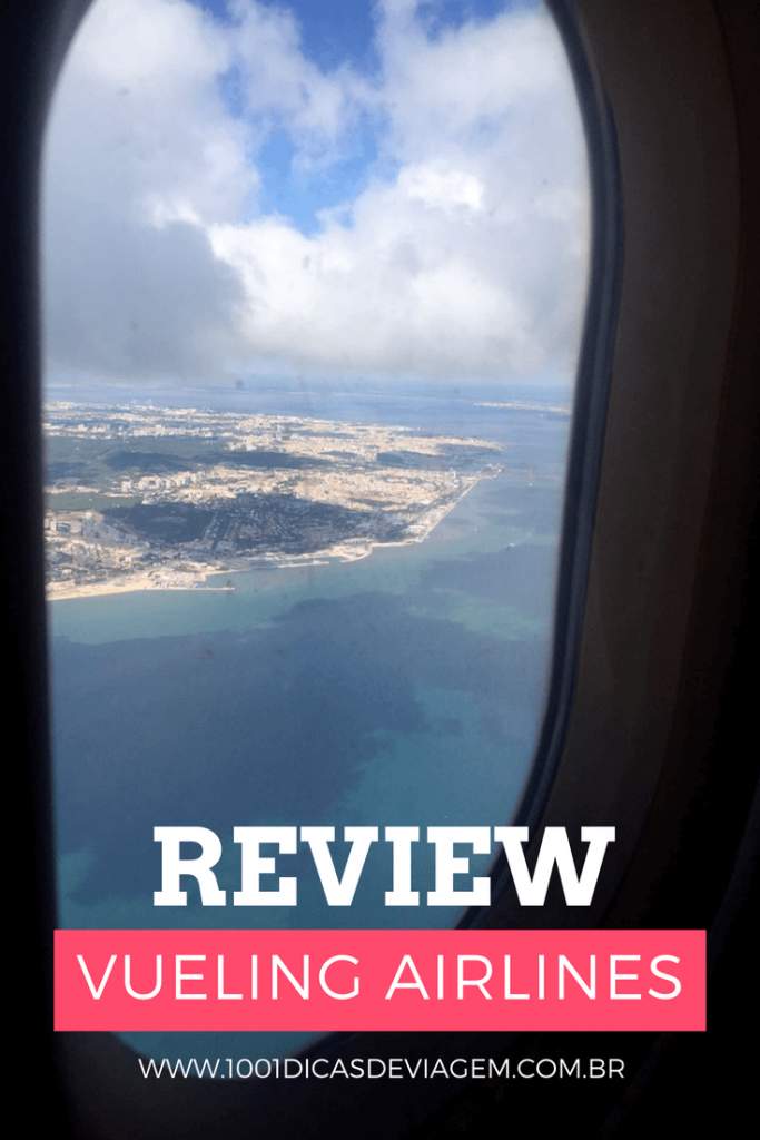 Review Vueling Airlines - Low Cost en Europe