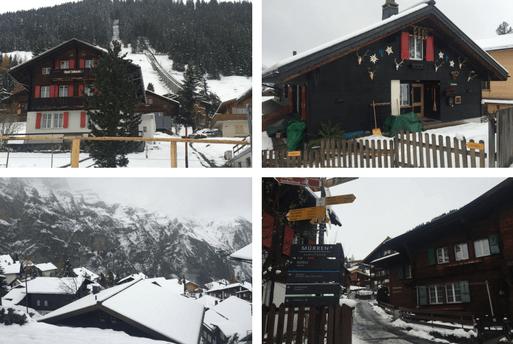 Schilthorn Piz Gloria : Montanha nos Alpes Suíços