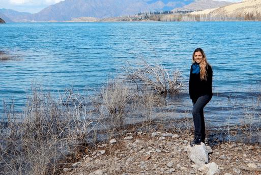 Lagoa Potrerillos em Mendoza Argentina