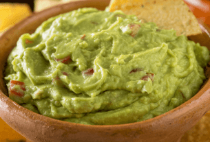 Recette de Receita guacamole tradicional mexican