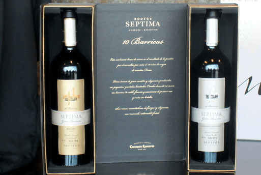 Septima Gran Reserva 10 Barricas Cabernet Sauvignon 2010 - Bodega Septima Argentine Wine Mendoza