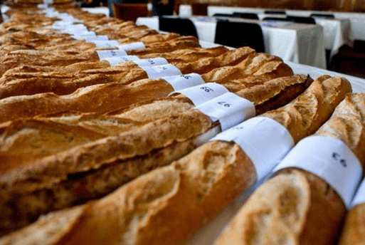 A melhor baguete de Paris - La meilleure baguette de Paris