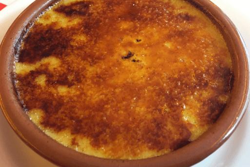 Crème brulée do Café des 2 Moulains | Blog 1001 Dicas de Viagem