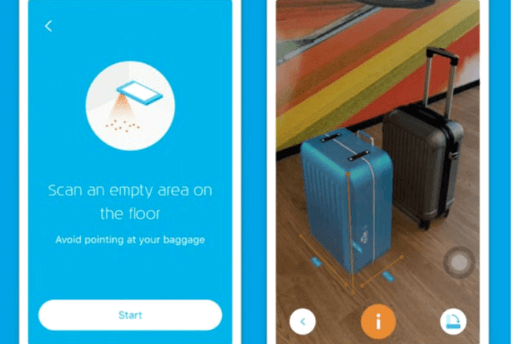 KLM Augmented Reality - Bagagem de Mão - Dicas de Viagem