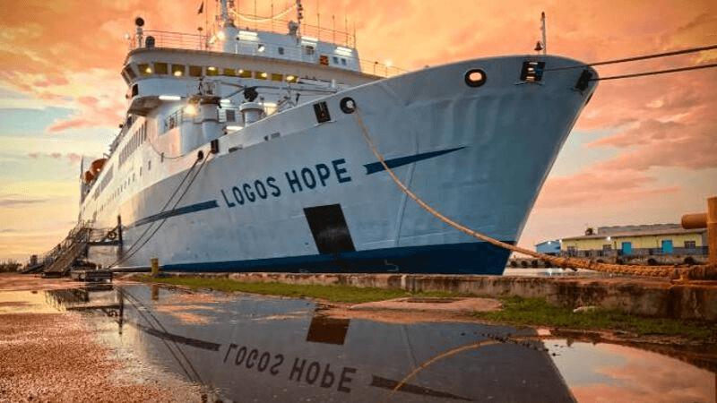 Logos Hope Ship - Maior livraria flutuante do mundo