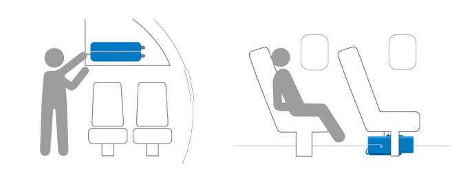 Dicas de Viagem - Tudo sobre bagagem de mão