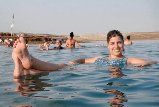 Flutuação no Mar Morto - Dead Sea Israel 1
