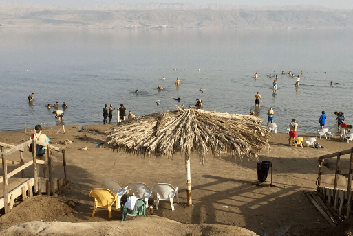 Flutuação no Mar Morto - Dead Sea Israel 4