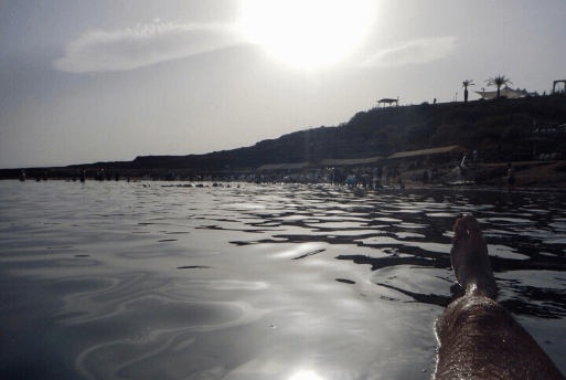 Flutuação no Mar Morto - Dead Sea Israel 5