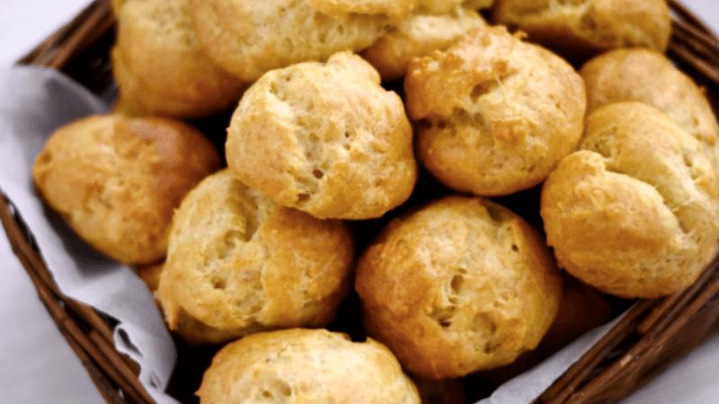 Experiência na Borgonha - Gastronomia Francesa - Comidas típicas da França - Receita de Pão de Queijo Francês - Pão de Queijo da Borgonha - Recette de Gougère Bourguignonne | 1001 Dicas de Viagem