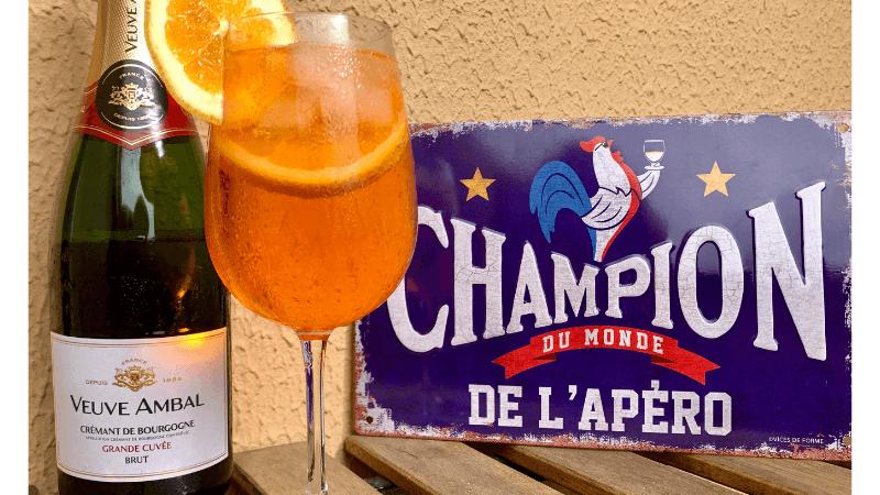 Spritz Français Veuve Ambal Crémant de Bourgogne | 1001 Dicas de Viagem